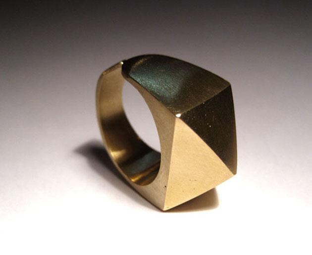 Ich präsentiere: Mein erster Messing-Ring