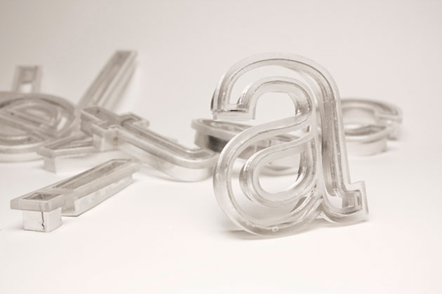 Helvetica cookie cutter by Beverly Hsu (1)