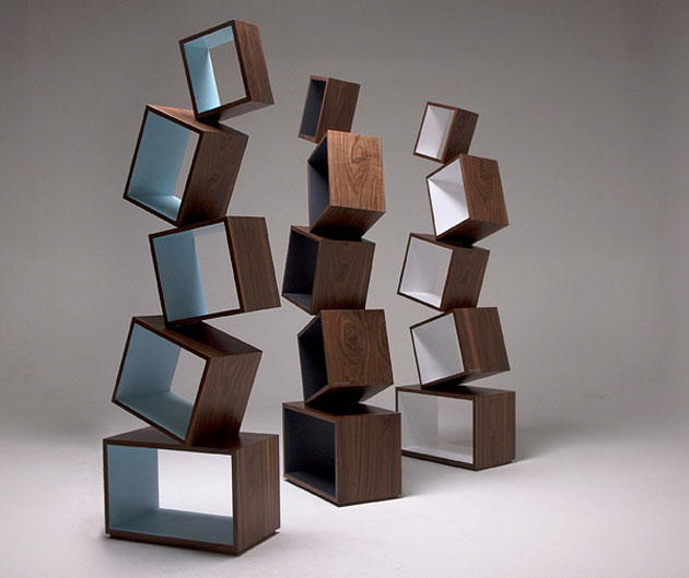 Equilibrium Bookcase by Malagana Design (1)