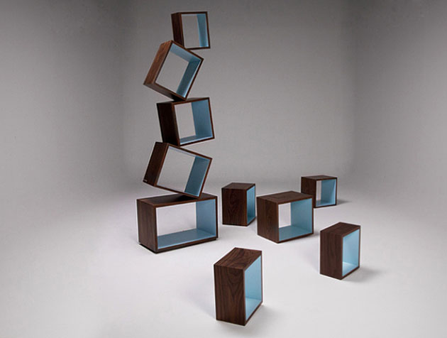 Equilibrium Bookcase by Malagana Design (2)