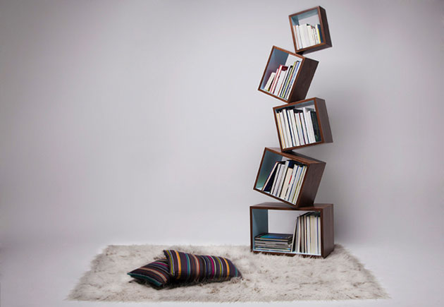 Equilibrium Bookcase by Malagana Design (4)