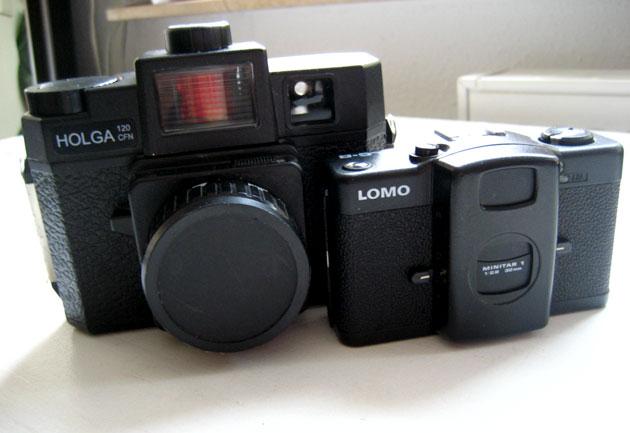 Holga 120 CFN and Lomo LC-A