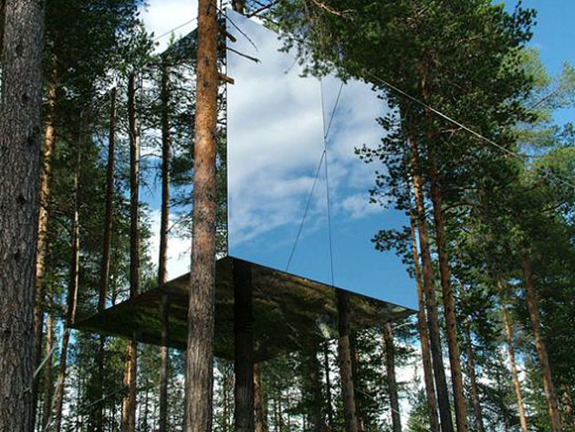 Mirrorcube by Treehotel (1)