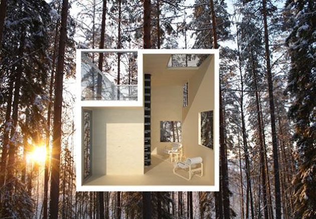 Mirrorcube by Treehotel (3)