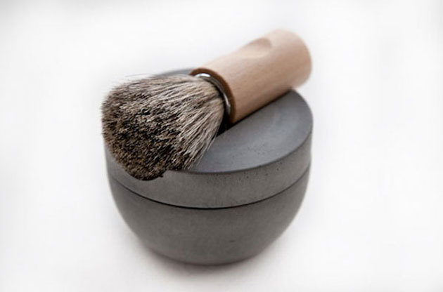 Concrete shaving kit by Lovisa Wattman (2)