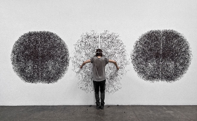 Penwald Drawings by Tony Orrico (1)