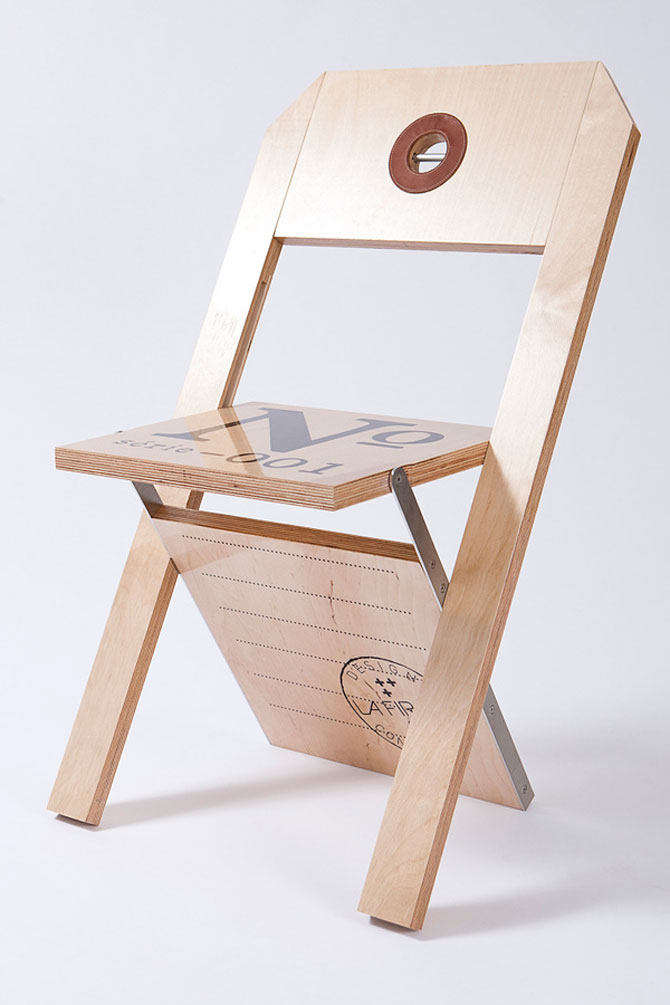 Label Chair by La Firme (2)