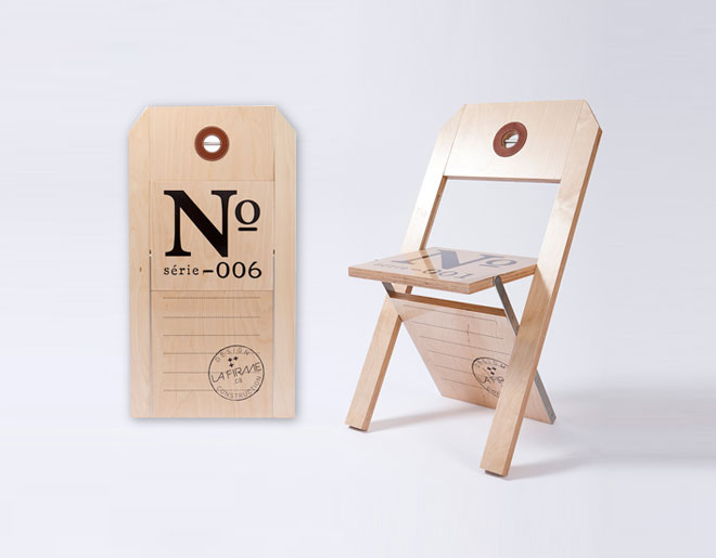 La Firme & Félix Guyon: Label Chair