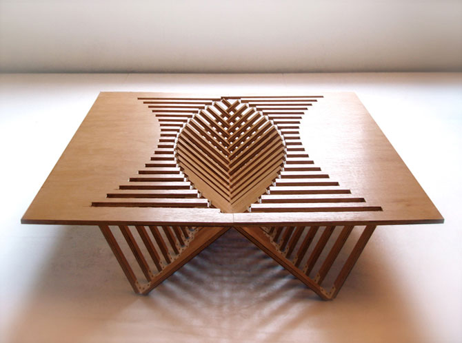 Rising Table by Robert van Embricqs (1)