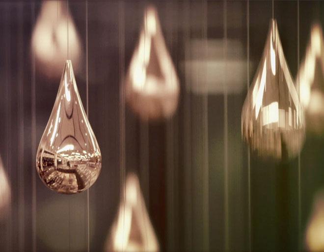 ART+COM: Kinetic Rain