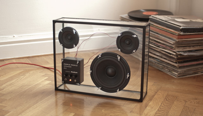 Transparent Speaker by PEOPLE PEOPLE (1)