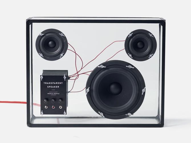 Transparent Speaker by PEOPLE PEOPLE (2)