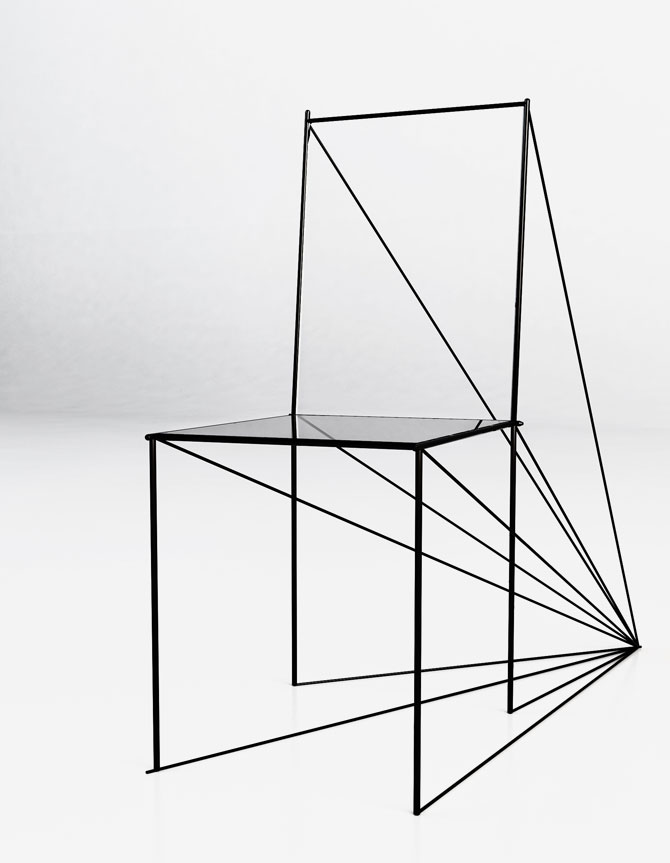 Artem Zigert: Perspective Chair