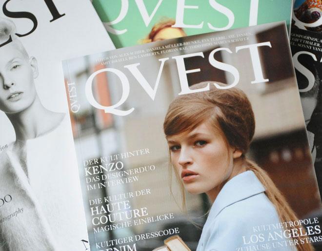 WIN: Ein Jahresabo des QVEST-Magazins