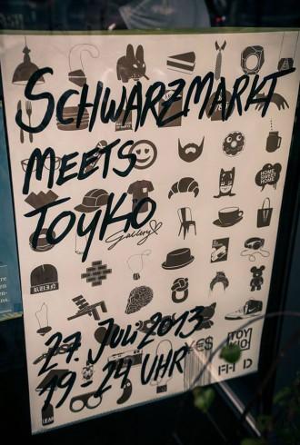 Schwarzmarkt meets Toykio