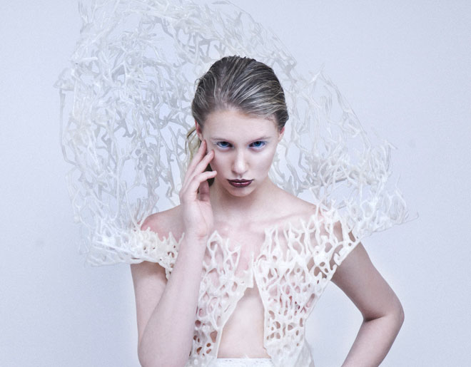 Francis Bitonti Studio: Bristle Dress